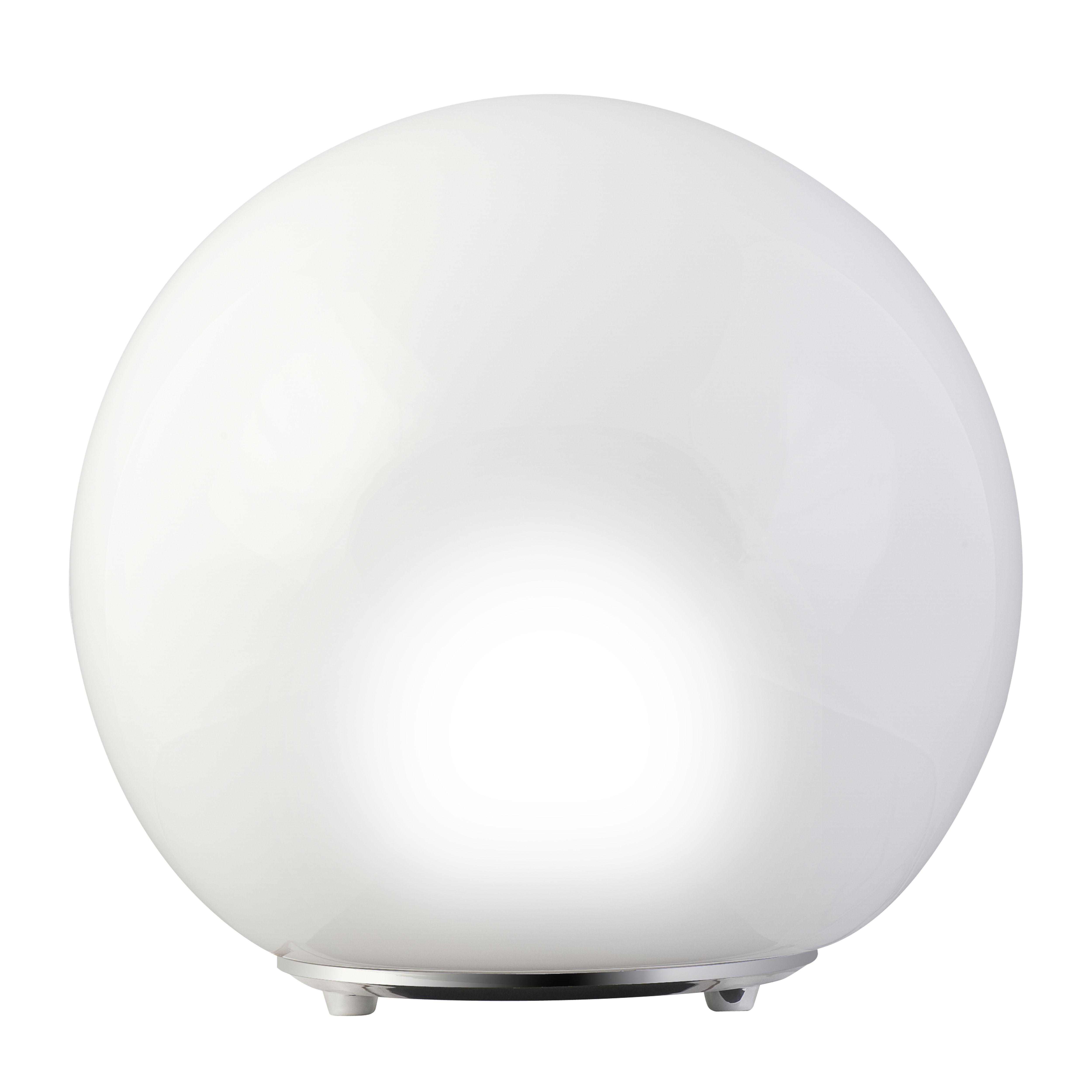 Light Table Lamp Arlec 27cm Gl Chr Base Lunar Tl0005 Bunnings Warehouse