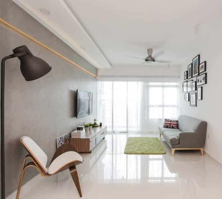 Settee Design Condo Singapore