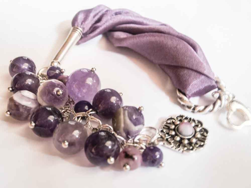 ''Purple bracelet''
