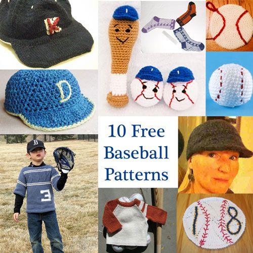 Celebrate Baseball Season With 10 Free Patterns Crochet Baby Hat Patterns Crochet Hat Pattern Crochet