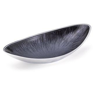 Fairtrade Recycled Aluminium Large Oval Bowl