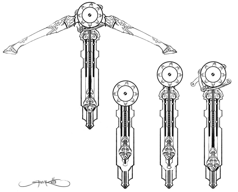 hidden crossbow design from assassin u0026 39 s creed unity