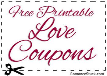 Large collection of free printable love coupons for Valentine's ...