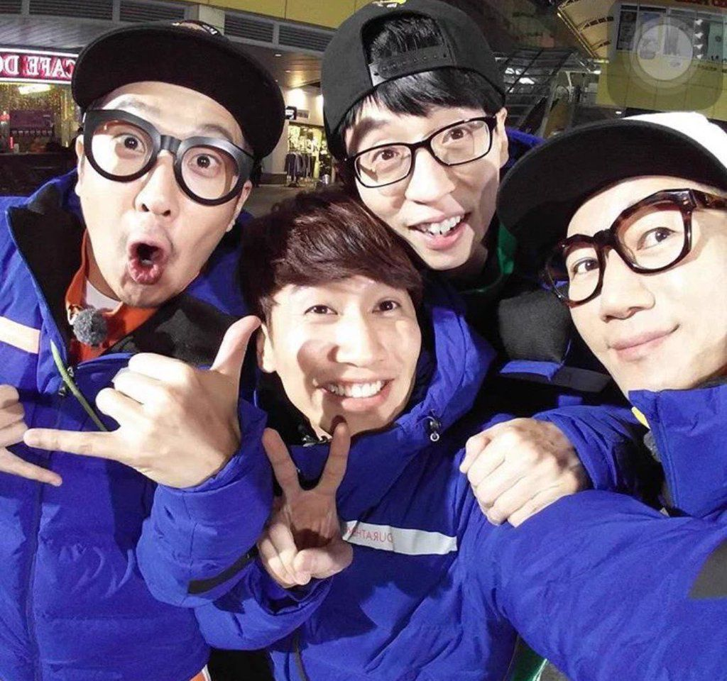 [151221] 런닝맨 Running Man Filming. (Cr. RM members' IG)