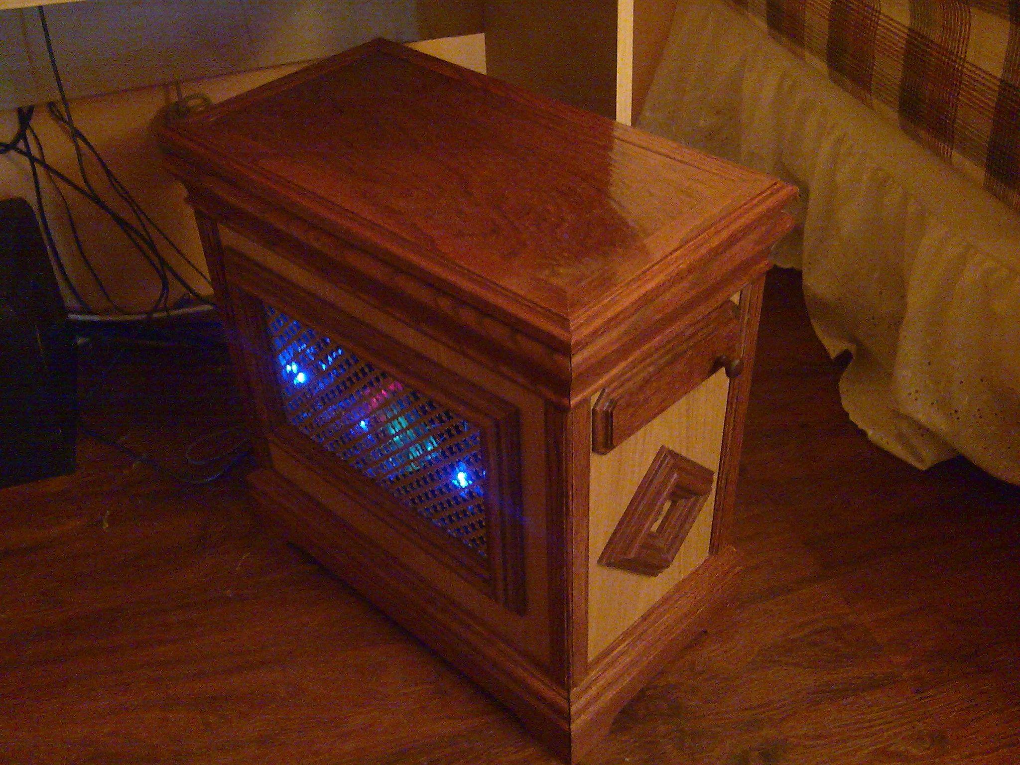 Superb Custom Wood Computer Case