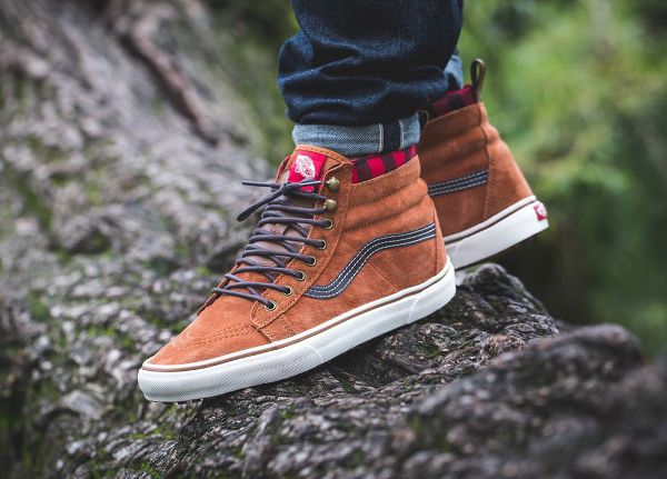 847250e64878c8 Vans Sk8 Hi MTE  Glazed Ginger  (Mountain Edition) post image ...