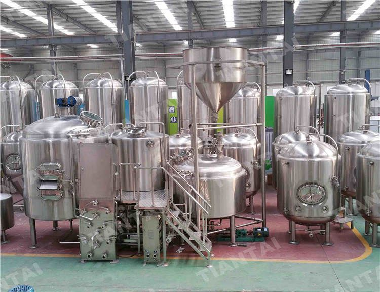 1200l Stainless Steel Brewhouse Brewery Equipment Brewery Equipment For Sale Beer Brewing System