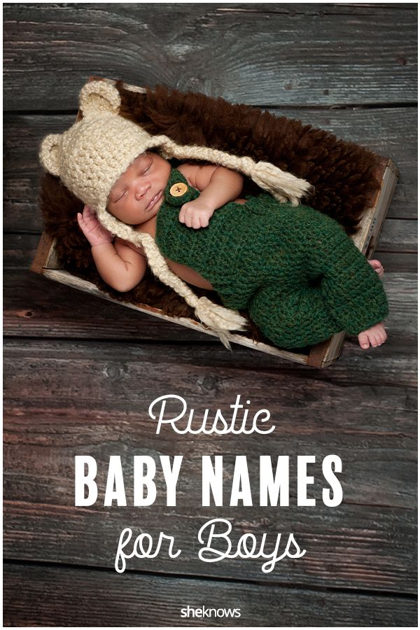 These Rustic Baby Boy Names Are Chock-Full of Country Charm
