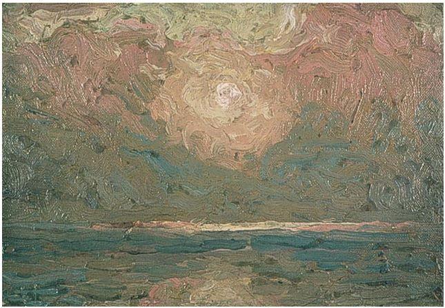 "Tom Thomson Catalogue Raisonné | Sky (""The Light that Never Was""), Summer 1913 (1913.20) | Catalogue entry"