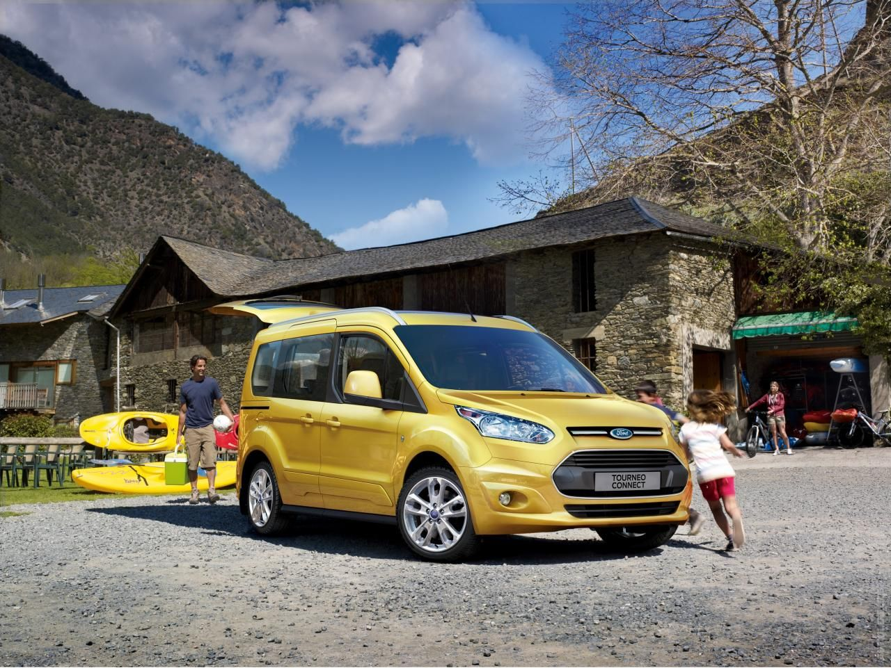 2014 Ford Tourneo Connect Ford Transit Pony Car Ford