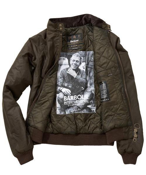".Barbour Merchant Waxed Jacket ""Steve McQueen"" Collection"