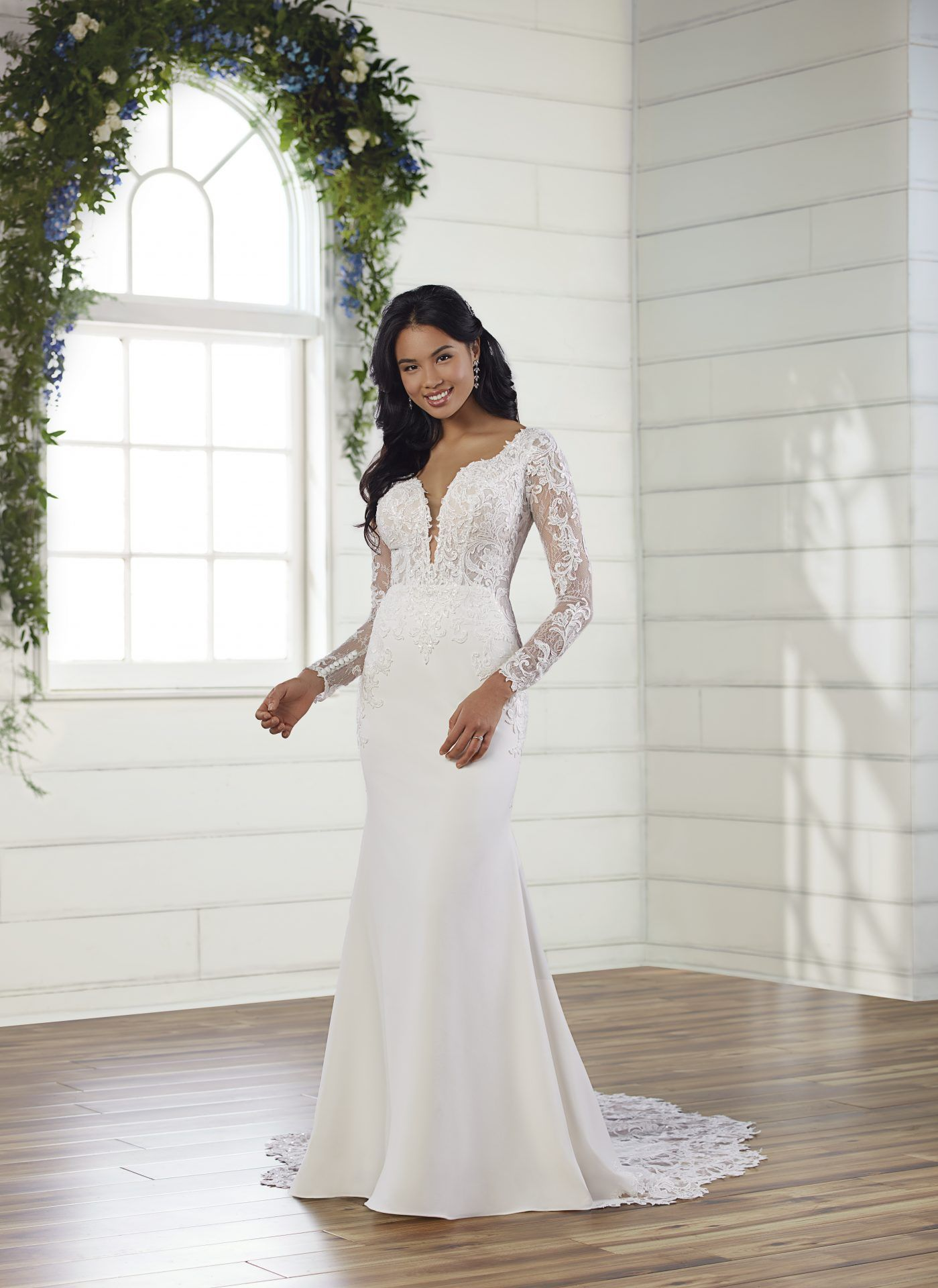 Essense of Australia in 2020 Crepe wedding dress