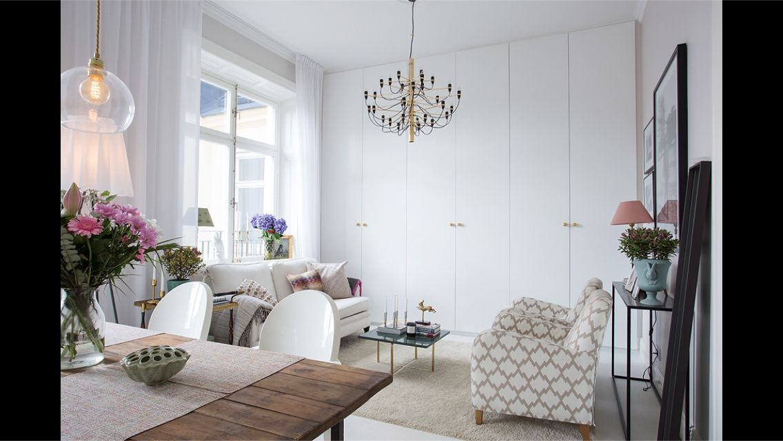 Snygg garderobsvägg Lovely interiors Pinterest Sovrum och Inspiration