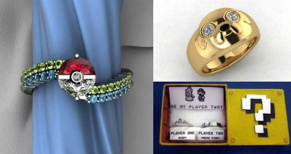 25 Ridiculously Geeky Engagement Ring Ideas