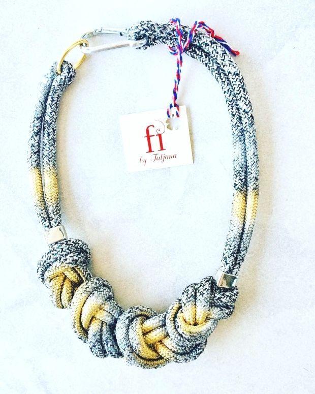 Rope Jewelry : ????UNIQUE JEWELERY FROM MONTENEGRO #ogrlica#jewelry#nacklaces#newyearpresent#necklaceaddict#handmade#art#elegant#jewelrymaking#jewelryforsale#montenegro#new#summer#collana#fashion#fashionblogger#jewelrydesigner#jewelryofheday#unique#madeinmontenegro#streetstyle#trendy#collar#collier#????????#halskette#??#????? #fi_by_tatjana???????? #Rope #Jewelry