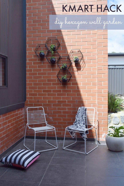 Kmart Hack Beehive Hexagon Vertical Garden Beehive