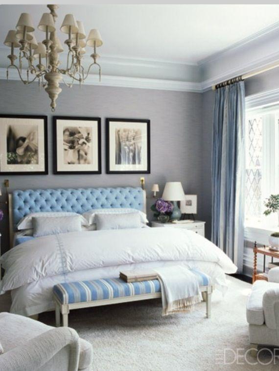 A Bachelorette's Abode, Feminine Bedroom Interior Design