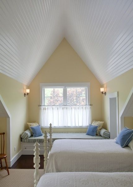 12 Low Angled Ceilings Designed By Highly Skilled Designers Designed Angled Ceilings Attic Rooms Attic Design