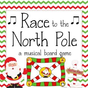 Christmas Music Game Race To The North Pole Christmas Music
