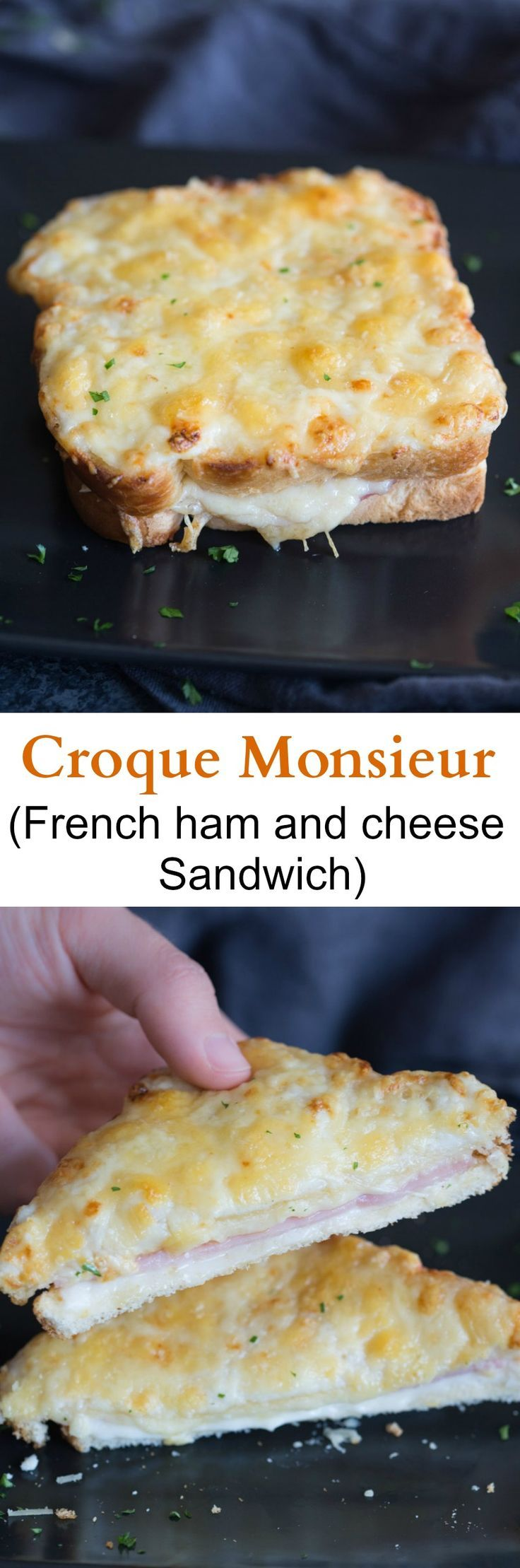 Croque Monsieur Recipe Recipes French Cooking Food