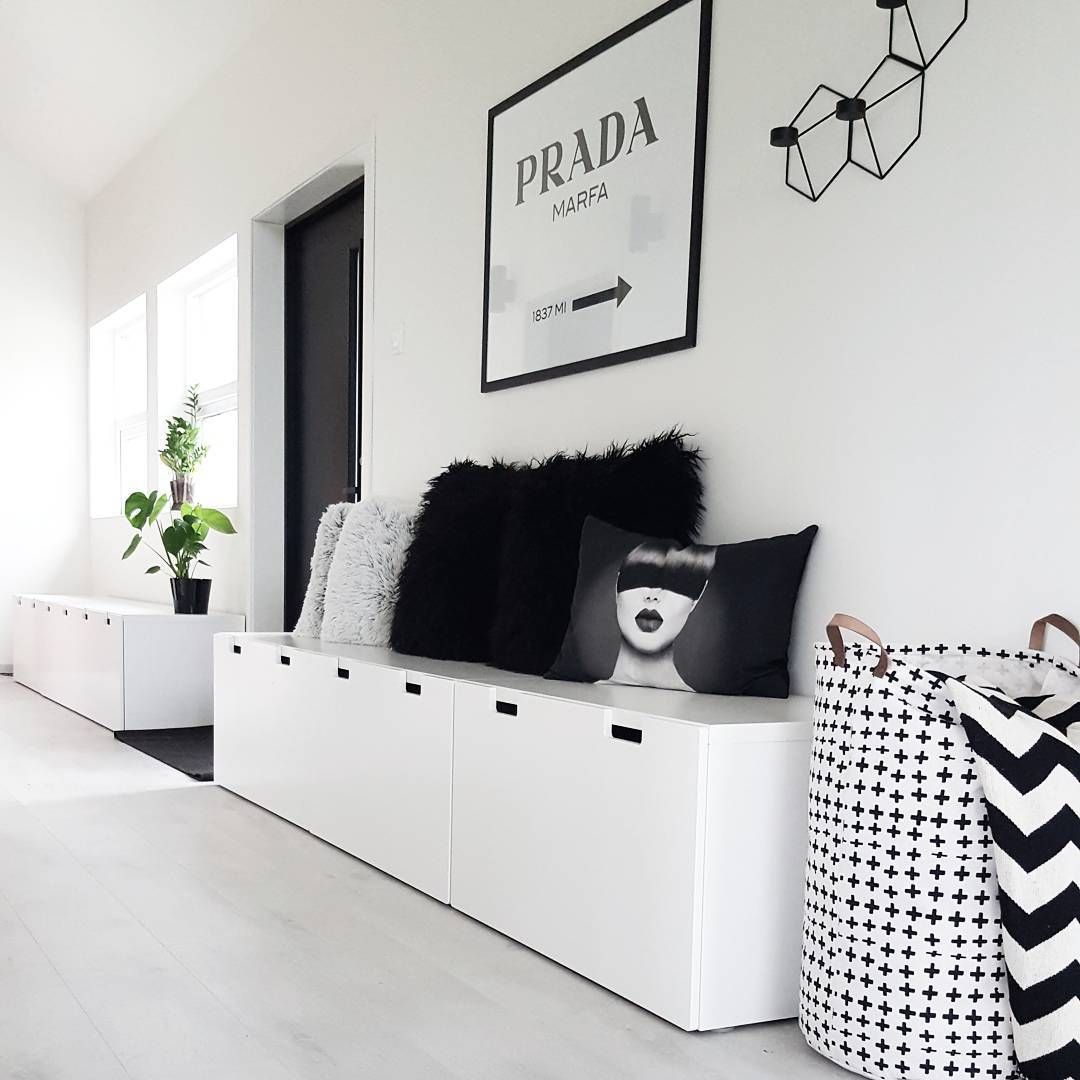 Ikéa Stuva Ikea Stuva Cabinets In Hallway Kubehus For The Home In 2019