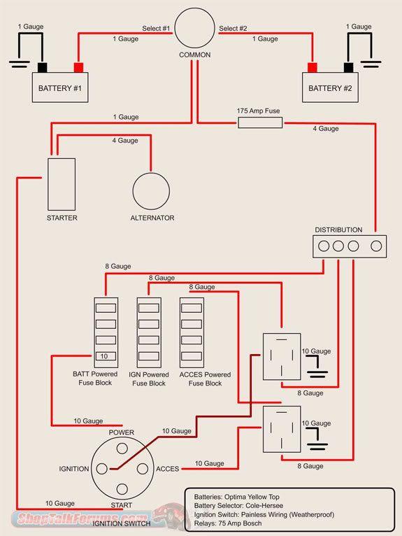 Pin By Torin Salamone On Car Wiring Diagram Automotive Electrical Alternator