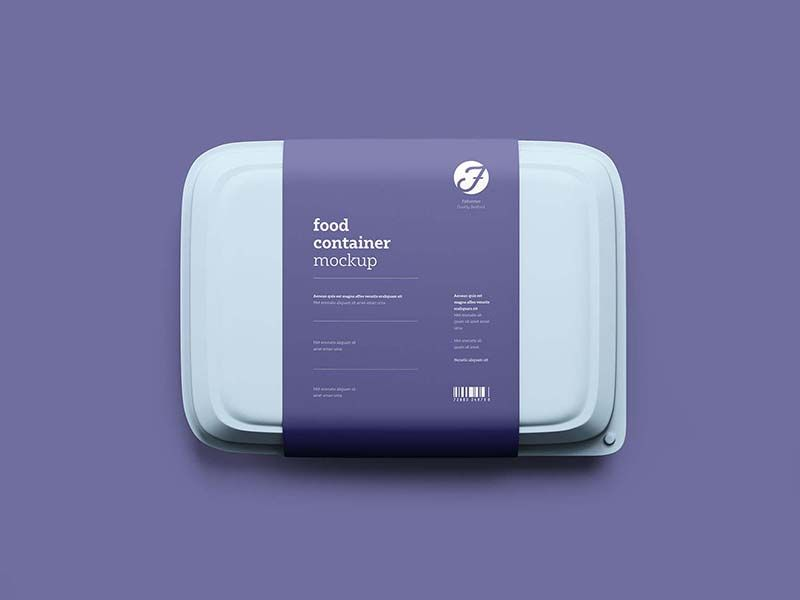 Download Free Food Box Mockup Food Box Packaging Food Containers Design Plastic Food Containers