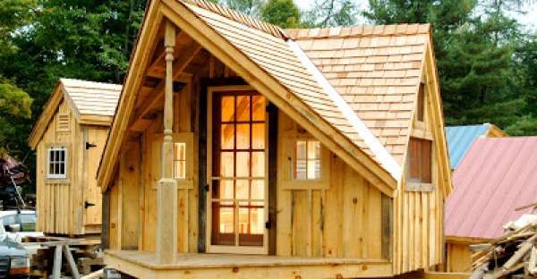 These Six FREE Plan Sets For Tiny Houses will make you SMILE