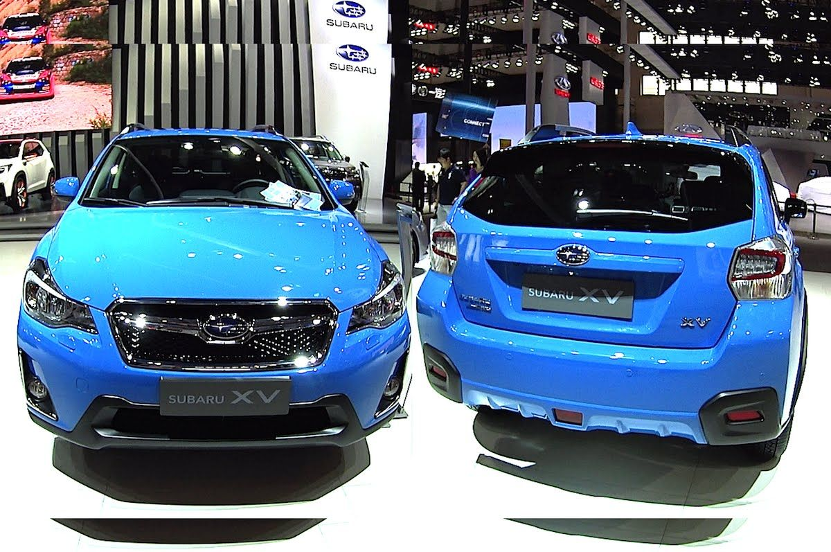 2016 2017 Subaru XV to be branded as Chery in China Officially