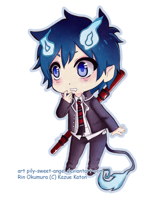 Rin okumura by pily-sweet-angel.deviantart.com | Anime and ...