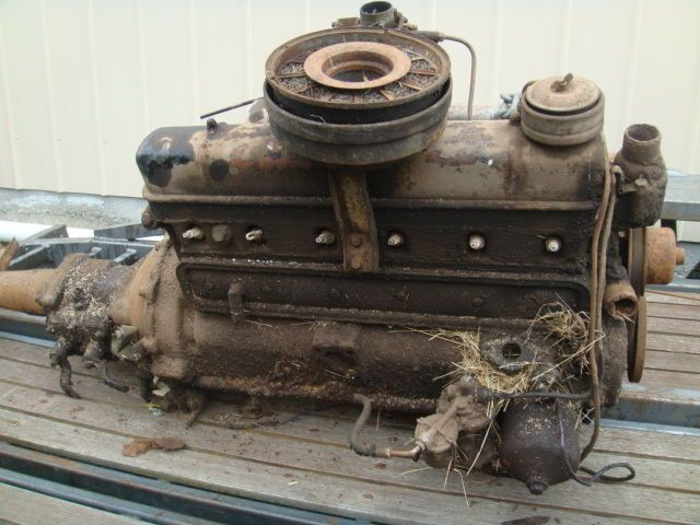 Zephyr Mk 1 Engine 6 Cylinder With Gearbox Ford Falcon Australia