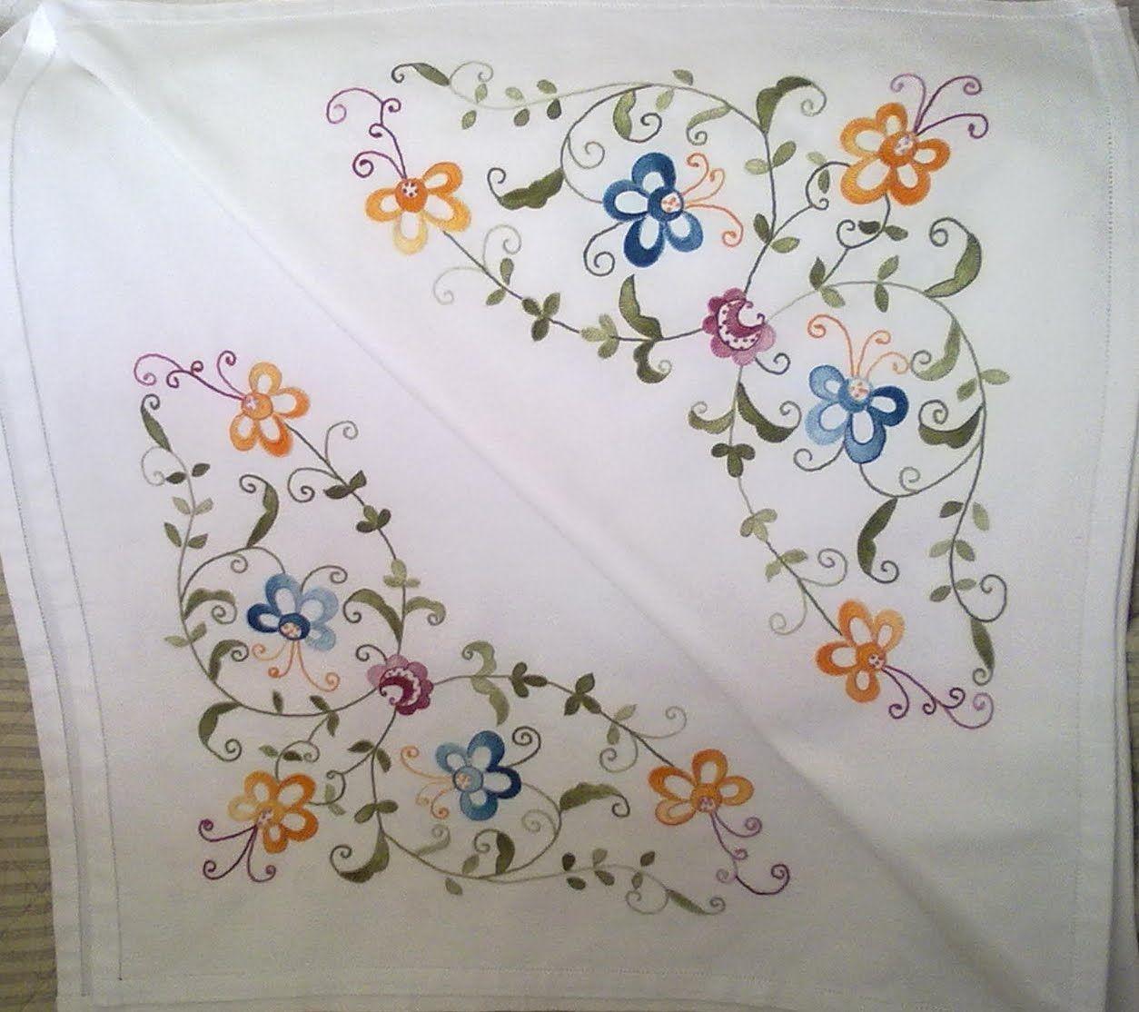 Knitting Embroidery Bordado : Bordado mallorquin s buscar con google