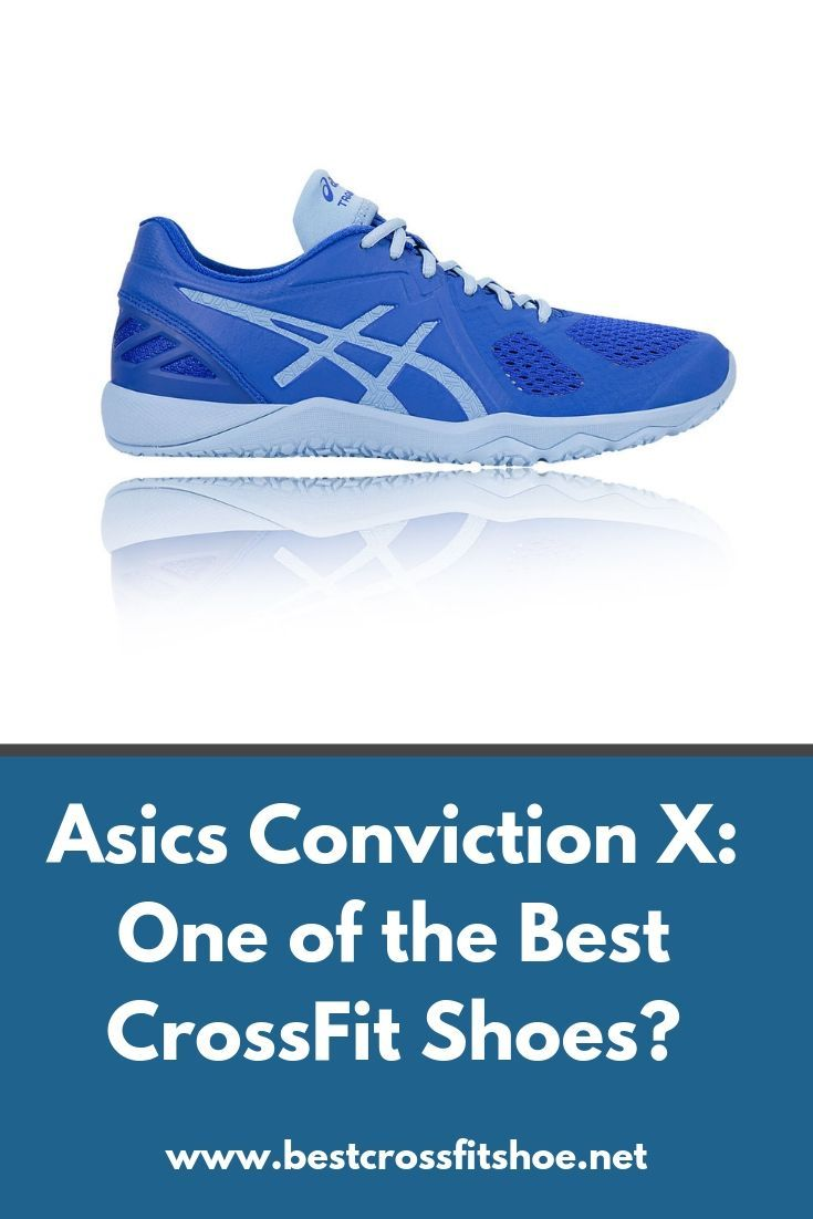 Review of the Asics Conviction X cross training shoe. It's one of our top picks for CrossFit shoes....