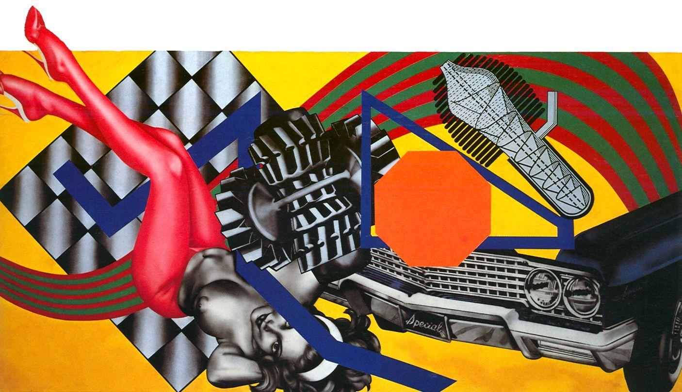 Peter Phillips Pop art, Peter phillips, Custom paint