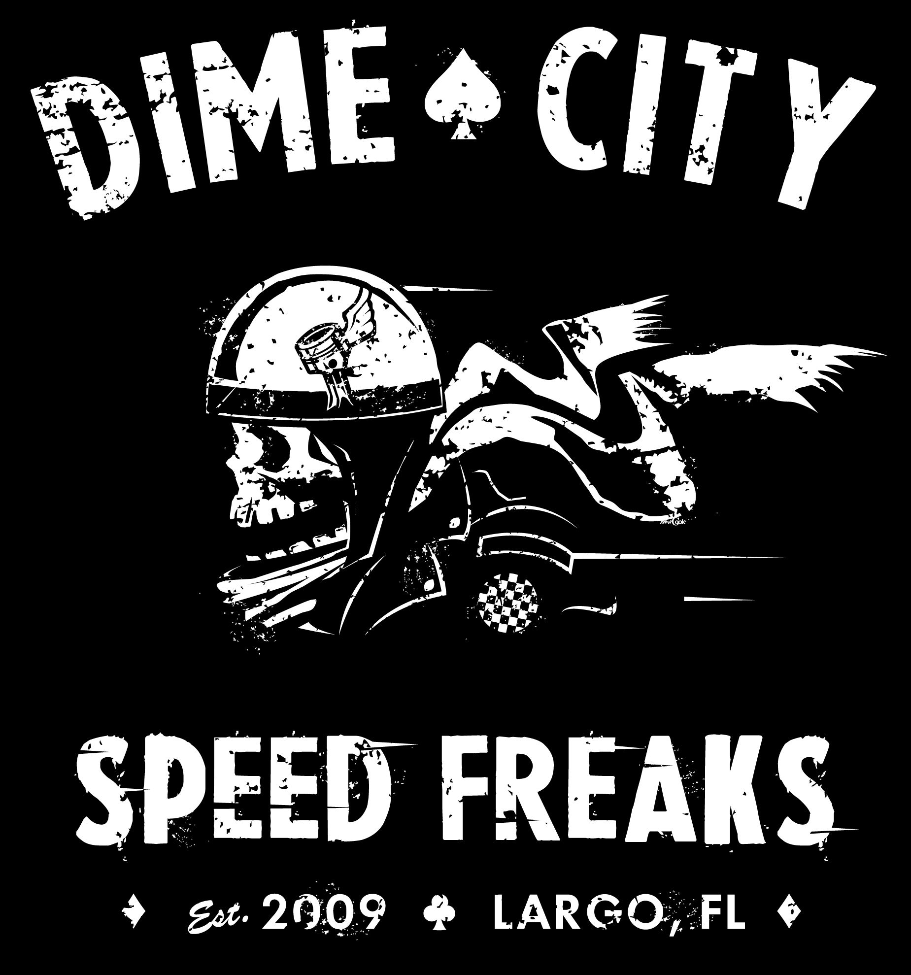 cafe racer t shirt design for dime city cyclestodd cook | art