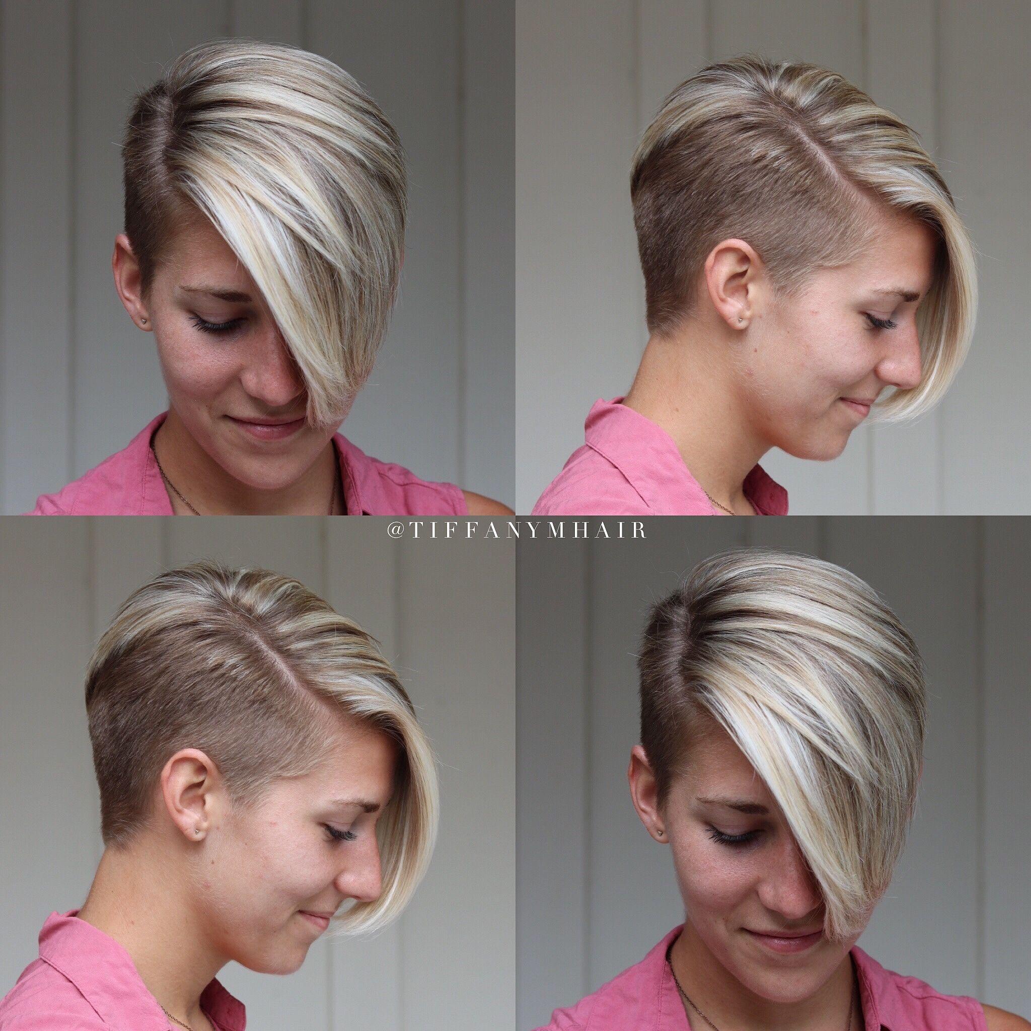 Short Side Shave Short Shaved Hairstyles Hair Styles Short Hair Undercut