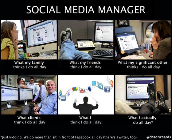 So True Although There S Also Pinterest Socialmediafun Social Media Manager Social Media Infographic Social Media