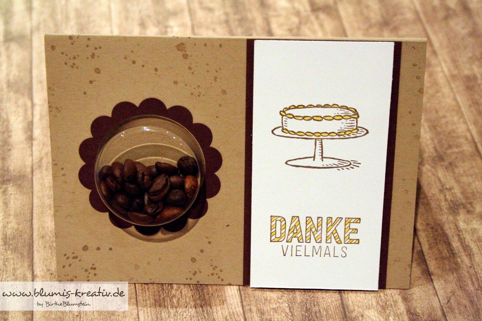 blumis kreativ blog: einladung zum kaffee und kuchen | selfmade, Einladung