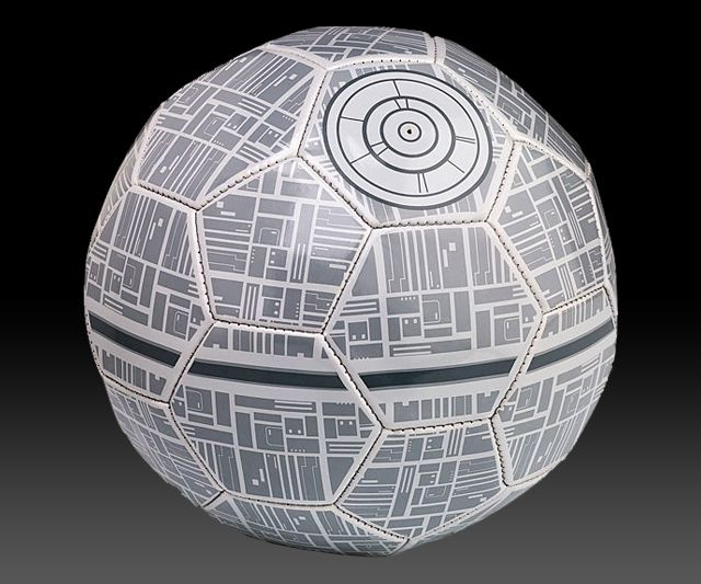 Star Wars Death Star Soccer Ball | DudeIWantThat.com