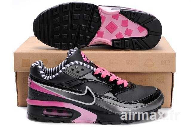 online retailer c164d 8adf0 Nike Air Max BW premium noir rose