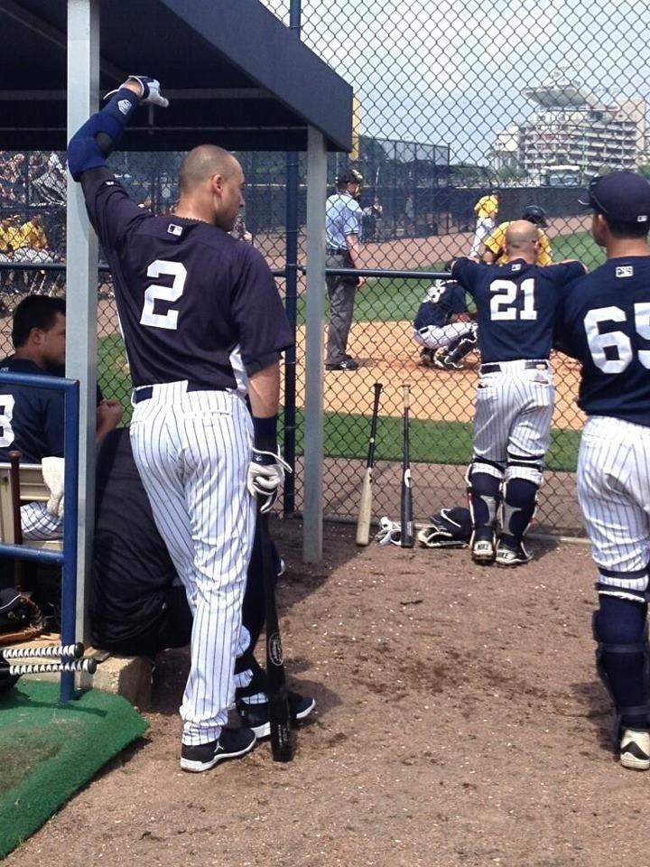 Derek Jeter Yankees Baseball New York Yankees Derek Jeter