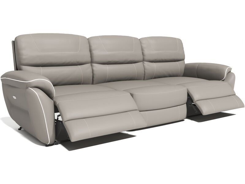 Dexy 4 Seater Straight Recliner Sofa
