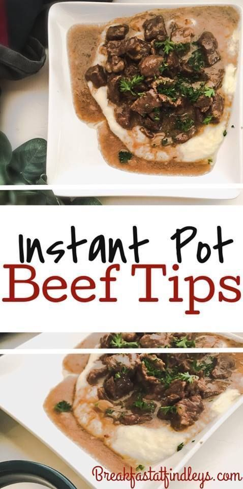 Instant Pot (or CrockPot) Beef Tips images