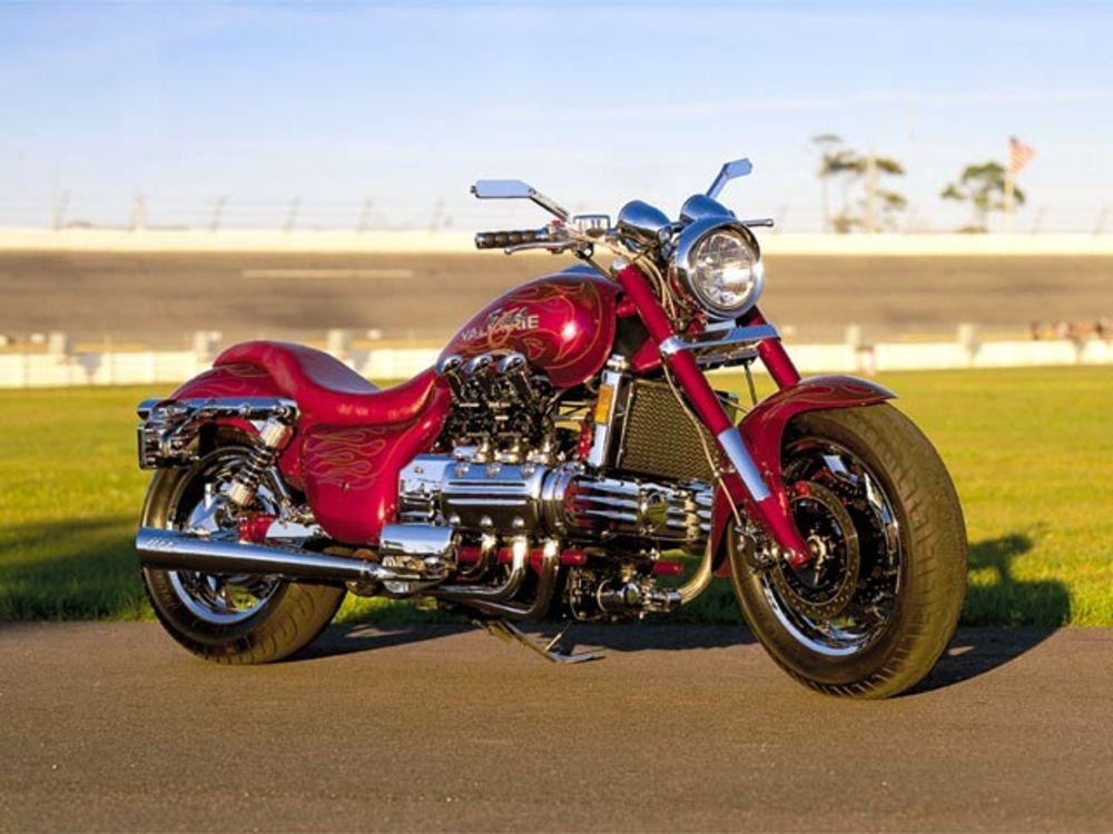 T shirt t-shirt Honda Valkyrie cruiser  motorcycle rockers
