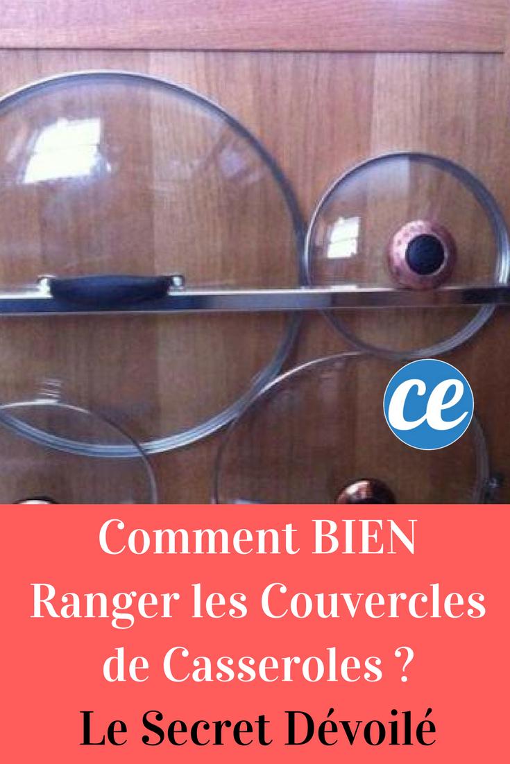 Comment BIEN Ranger Les Couvercles De Casseroles ? Le