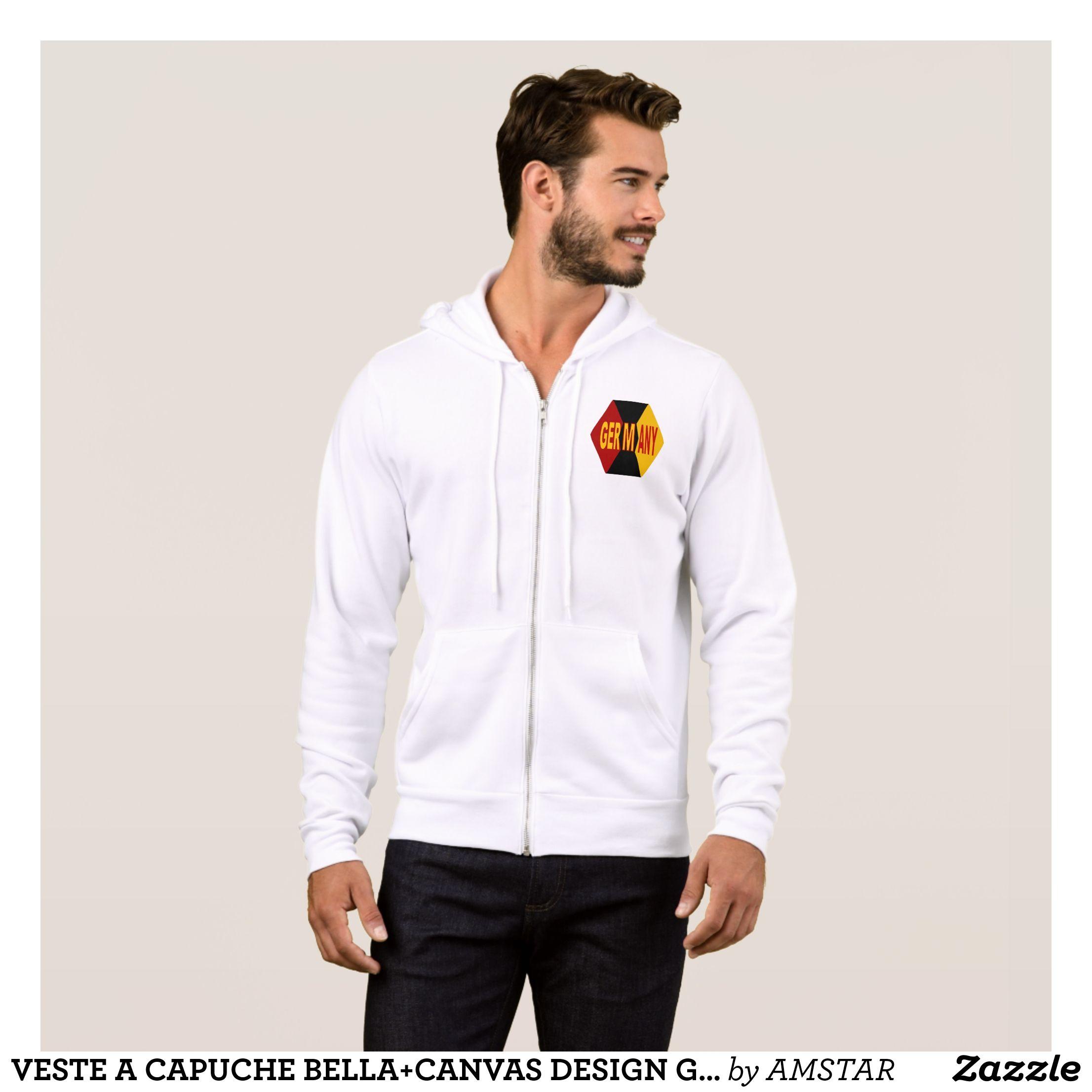 Jacket with hood bleatedcanvas design germany stylish comfortable