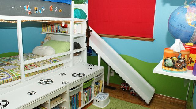 I Dont Like The Room But They Have Bunk Bed Slide Building