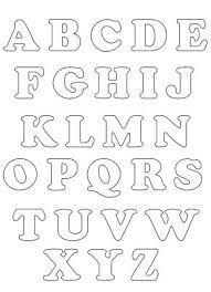 letras para imprimir - Pesquisa Google