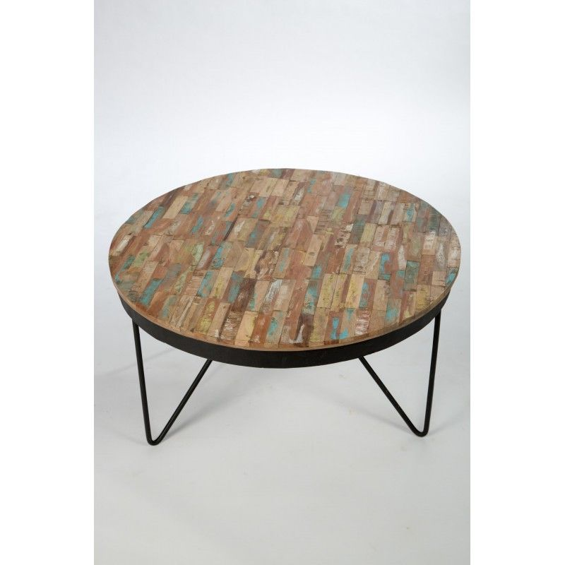 Table Basse Ronde Bois Metal Table Basse Ronde Bois Table Basse Table Basse Ronde