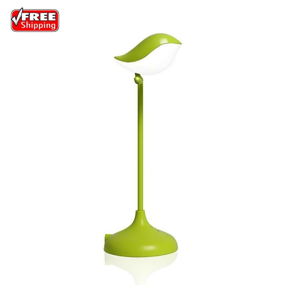 Cute Bird Led Desk Lamp Usb Battery Powered Table Night Lamp With Touch Control Home Garden Lamps Lighting Ceil With Images Led Desk Lamp Night Lamps Usb Batteries